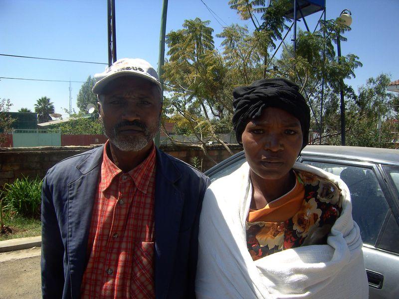 Workinesh & her husband (2)